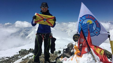 Del Pico Lenin al Teide: Belén Rodríguez, la alpinista que bate récords y además vendimia