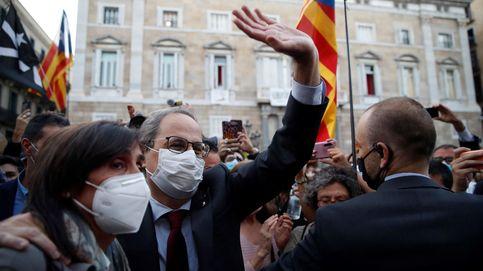 El Constitucional estudiará en Pleno la suspensión de la condena de Quim Torra