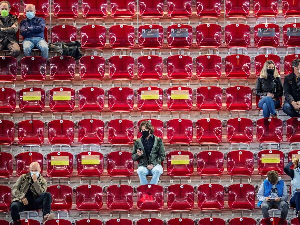 Foto: El Mutua Madrid open, un reto al 40%. (EFE)