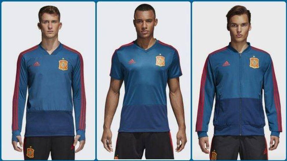 Camiseta de España para 'todos': la de entrenamiento será azul franquista