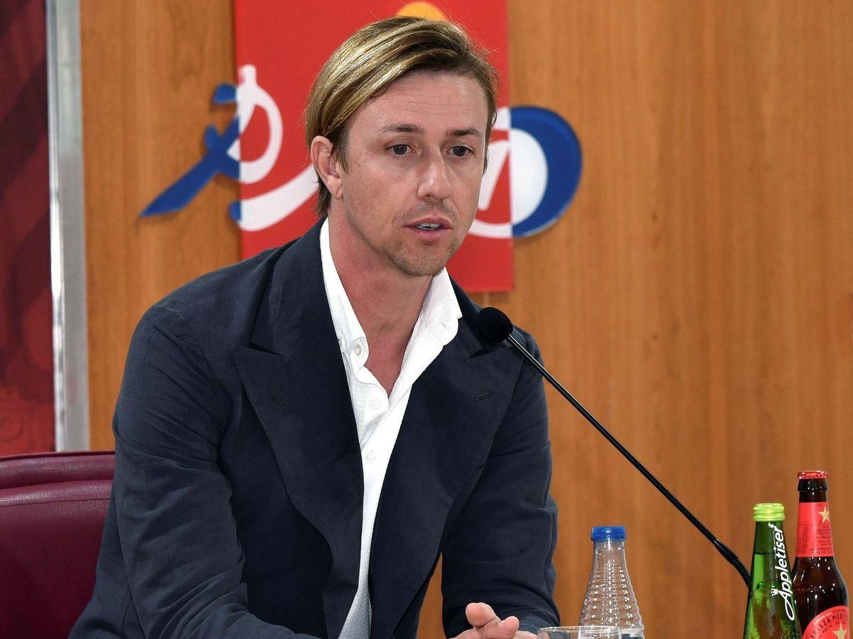 Foto: Guti, en una imagen de archivo en su etapa en Almería. (EFE)