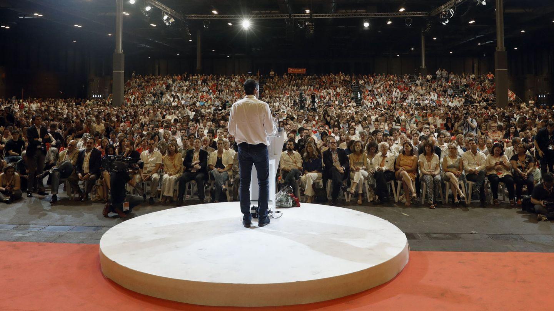 Pedro Sánchez, el pasado 18 de junio, durante la clausura del 39º Congreso Federal del PSOE, en el pabellón 3 de Ifema de Madrid. (EFE)