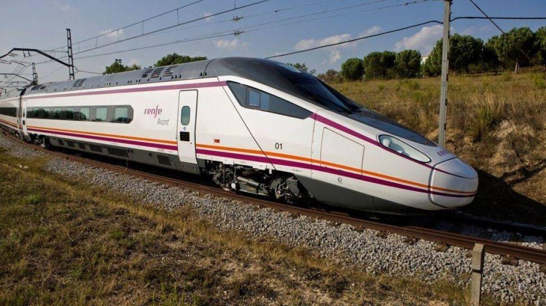 Foto: Imagen de un tren Avant de Renfe.
