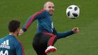 El plan de Iniesta para no derrumbarse físicamente en el Mundial de Rusia