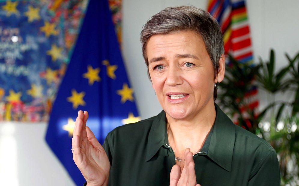 Foto: La vicepresidenta de la Comisión Europea, Margrethe Vestager. (Reuters)