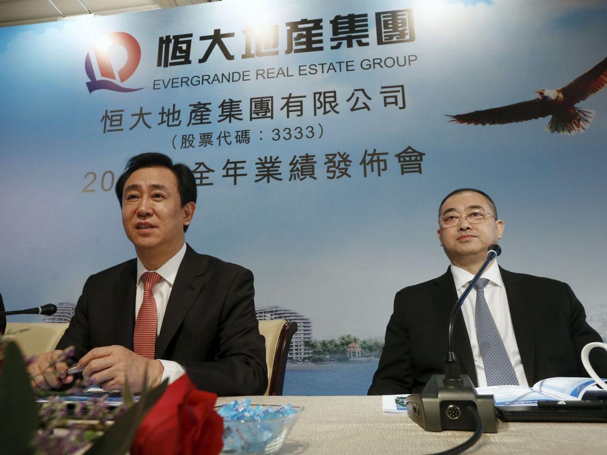 Foto: El presidente del Grupo Evergrande, Hui Ka Yan. (Reuters)