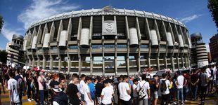 Post de La presentación de Eden Hazard en directo: colas en el Bernabéu para ver al belga