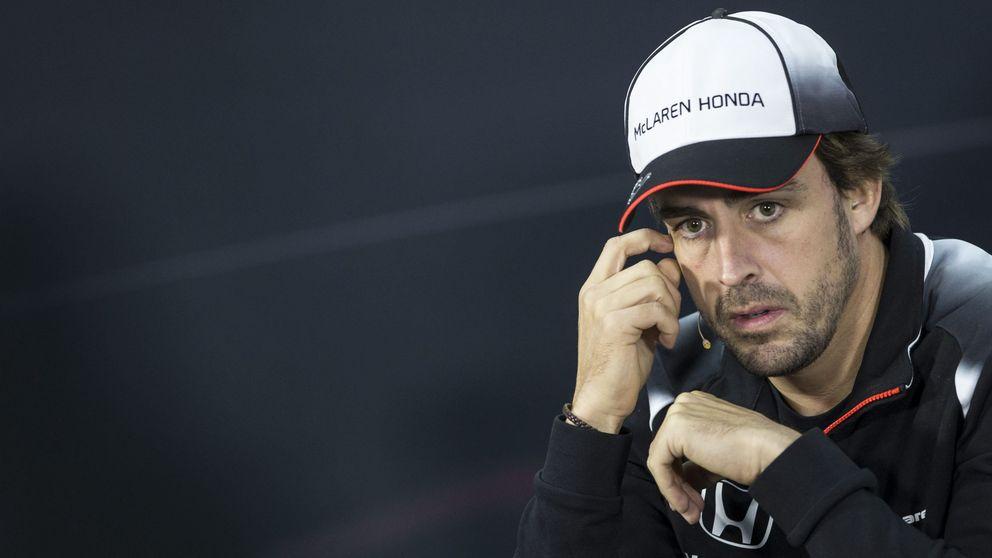Fernando Alonso quiso correr en Bahrein con las costillas rotas