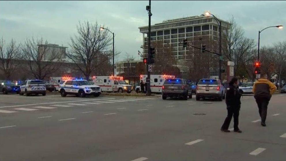 Cuatro muertos en un tiroteo en un hospital de Chicago