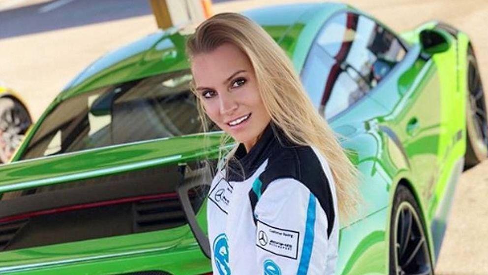 Doreen Seidel: de modelo de Playboy a correr en la Fórmula 1 femenina