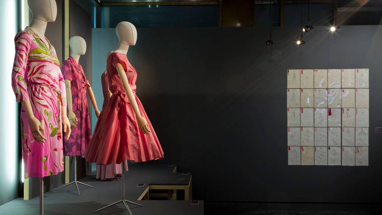 Grandes vestidos con un denominador común: la gama de los rosas. (Cortesía)