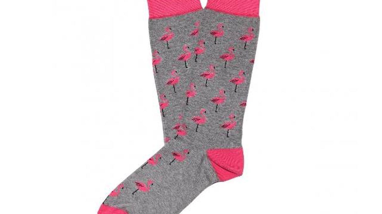 Calcetines Flamingo de Jimmy Lion (10 euros).