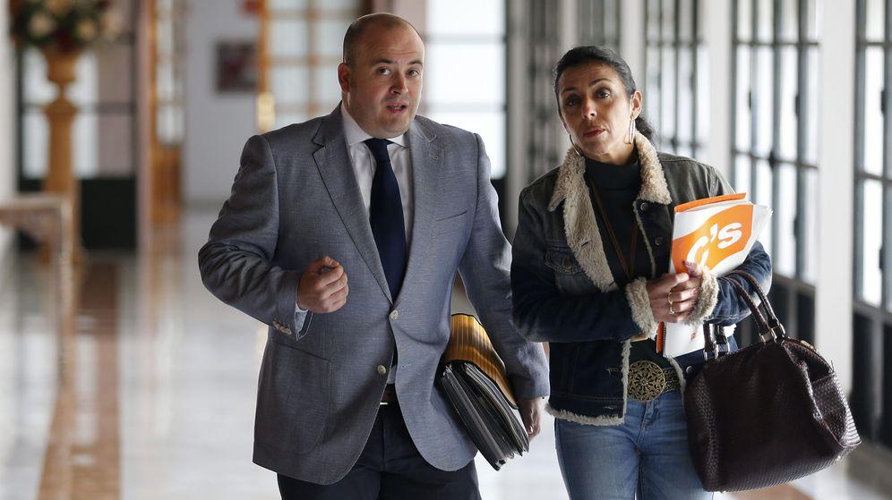 Foto: El diputado de Ciudadanos y presidente de la comisión de investigación, Julio Díaz. (EFE)