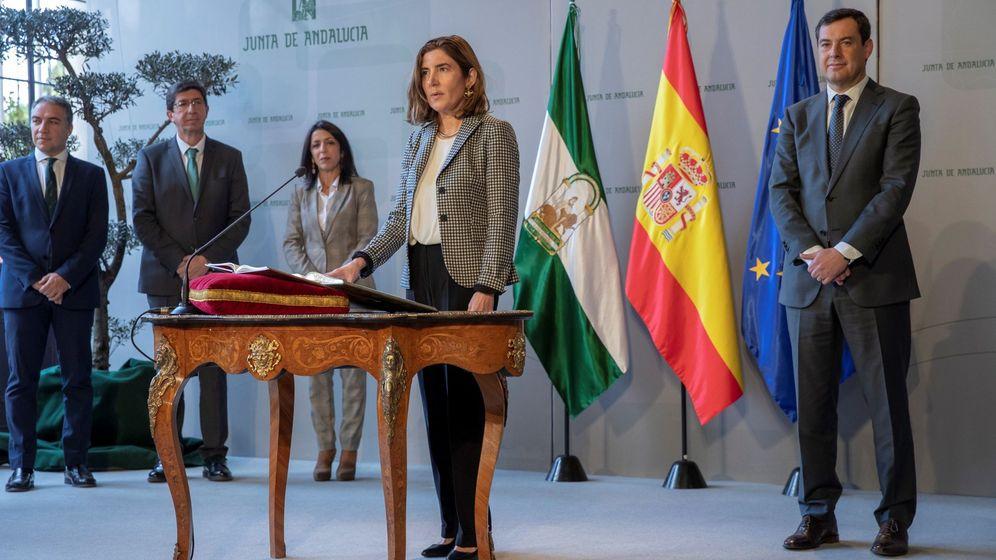 Foto: La nueva consejera de Empleo, Formación y Trabajo Autónomo, Rocío Blanco. (EFE)