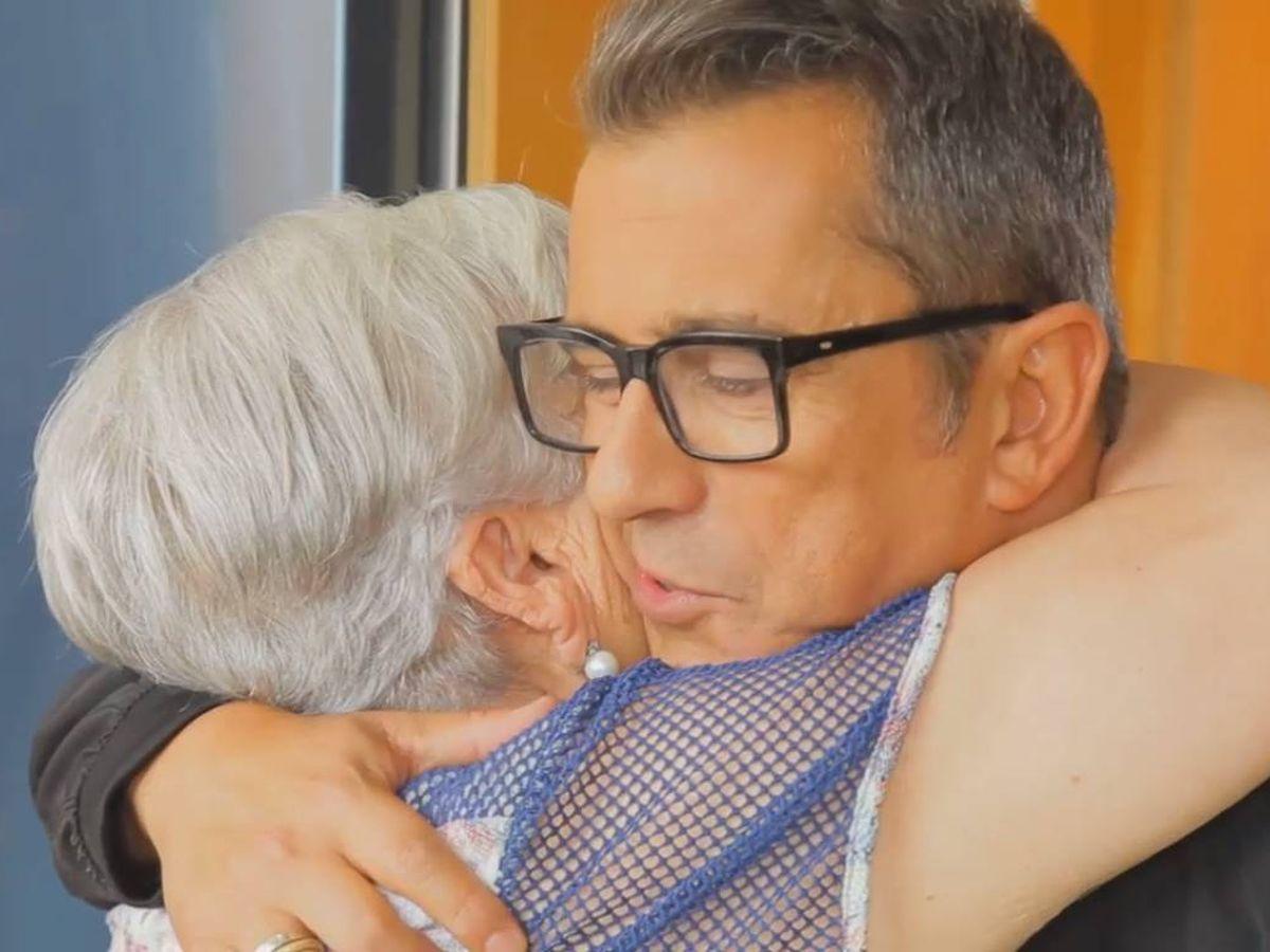 Foto: Andreu Buenafuente y su madre, Teresa Moreno. (TV3)