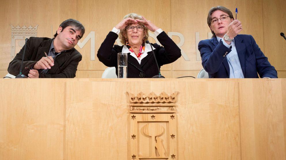 Carmena, Iglesias, Errejón... Vencedores (y un vencido) en la guerra de Ahora Madrid