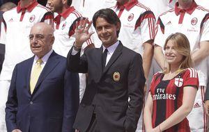 Bárbara Berlusconi, vicepresidenta además de hincha del AC Milán