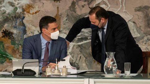 El reencuentro entre Sánchez y Ábalos en Valencia