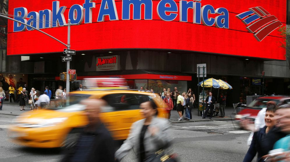 Foto: Oficina de Bank of America en Nueva York. (Reuters)