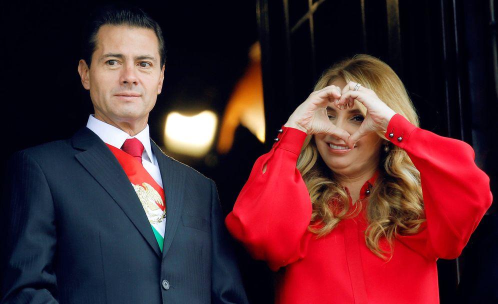 Foto:  Peña Nieto y Angélica Rivera. (Reuters)
