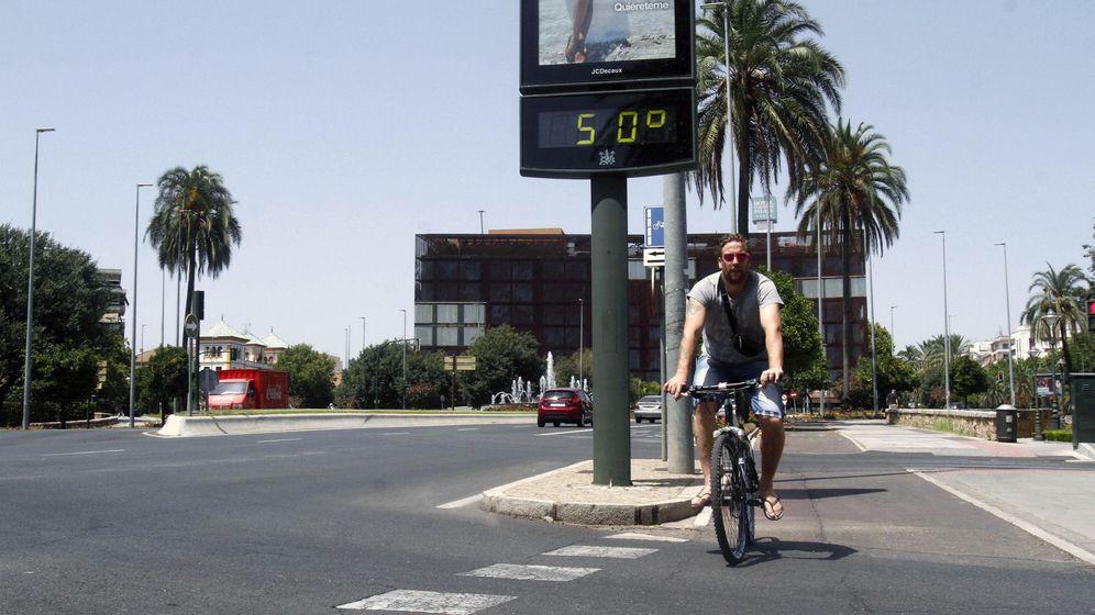 Foto: Córdoba tenía hoy una alerta roja por calor (EFE)