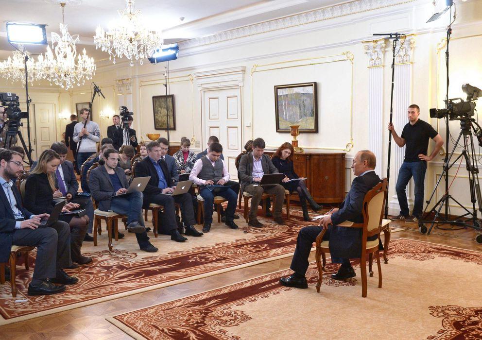 Foto: Vladímir Putin, en una imagen de archivo. (Efe)