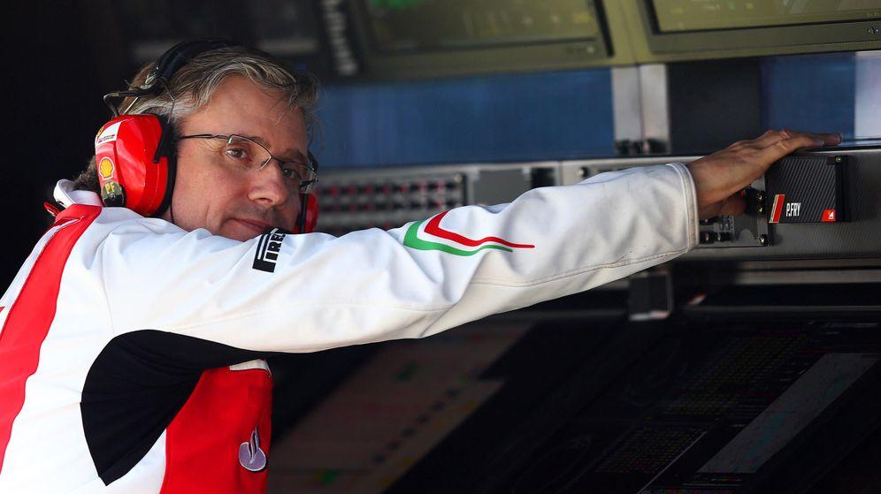 Foto: Pat Fry en su etapa en Ferrari (GTres).