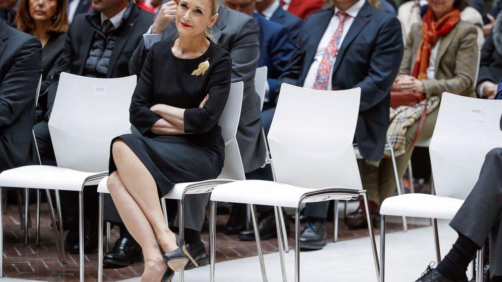 Foto: La presidenta de la Comunidad de Madrid, Cristina Cifuentes, en un acto oficial este miércoles. (EFE)