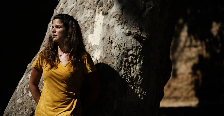 Foto: Teresa Rodríguez, secretaria general de Podemos Andalucía. (Pepo Herrera)