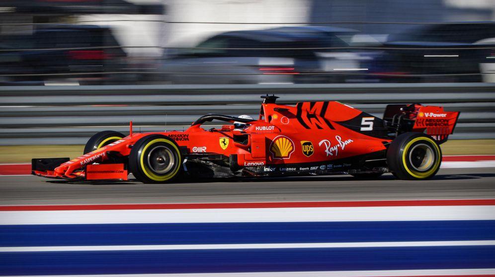 Foto: La nota técnica de la FIA y la caída de rendimiento de Ferrari en EEUU acentuó la sospechas de sus rivales. (USA TODAY SPORTS)