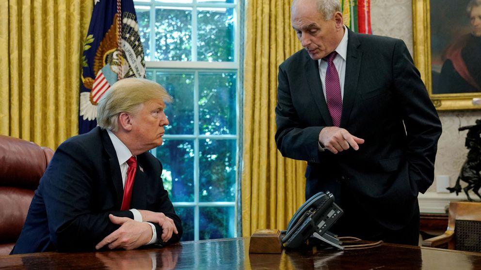 Trump anuncia la salida a fin de año de su jefe de gabinete, John Kelly