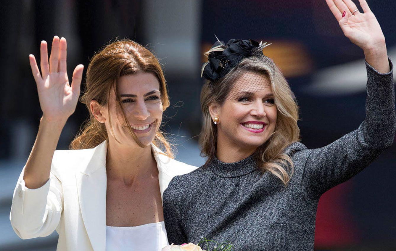 Foto: Montaje fotográfico de Máxima de Holanda y Juliana Awada