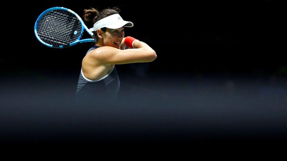 Muguruza, fuera del Masters de Singapur tras perder ante Venus Williams