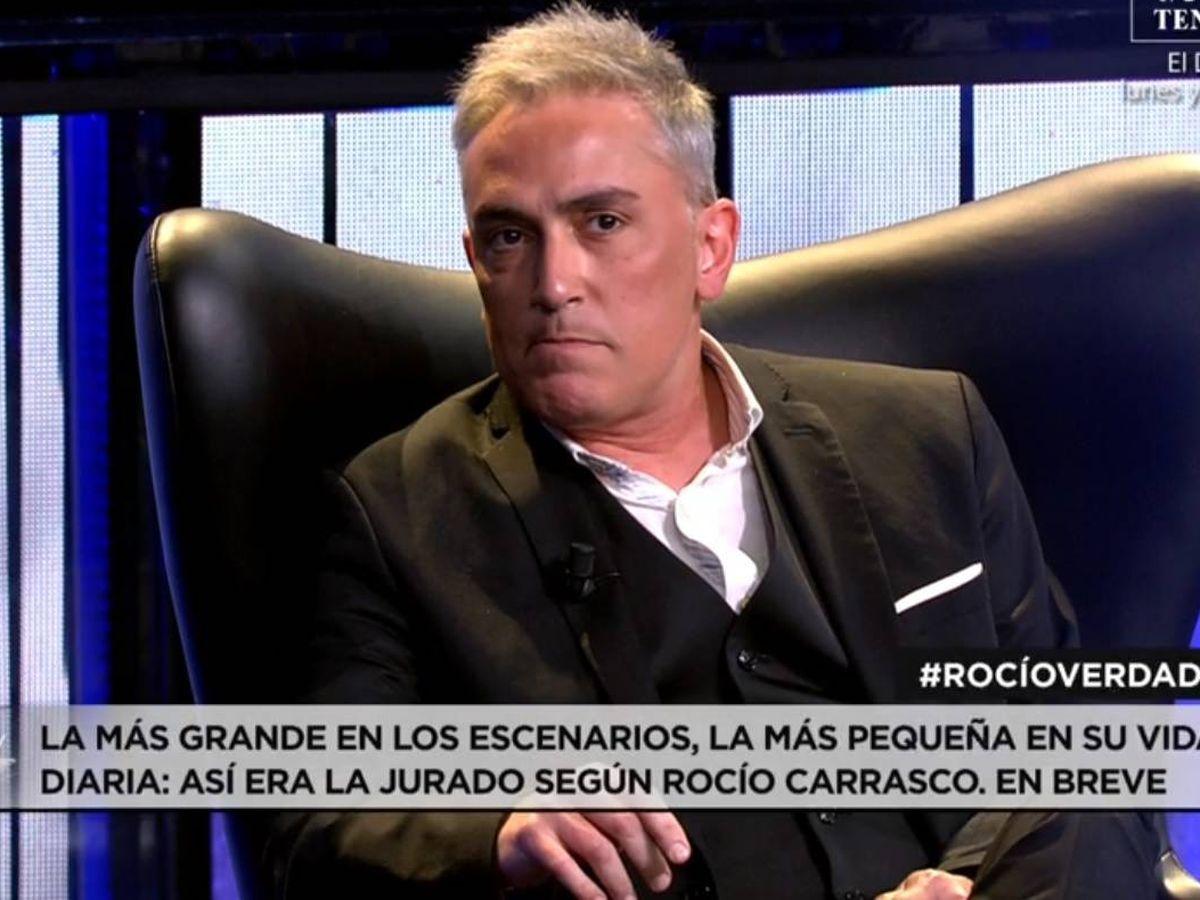 Foto: Kiko Hernández, en Telecinco. (Mediaset).