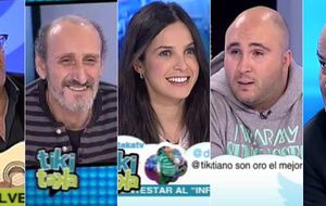 'Tiki Taka' tira de 'celebrities' para alcanzar a 'El chiringuito'