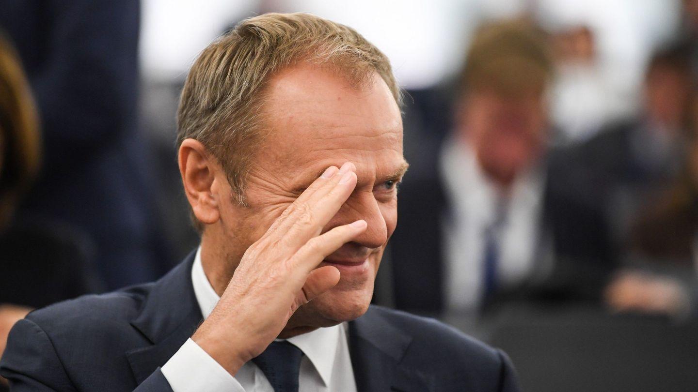 Donald Tusk, presidente del Consejo Europeo hasta el 31 de octubre. (EFE)