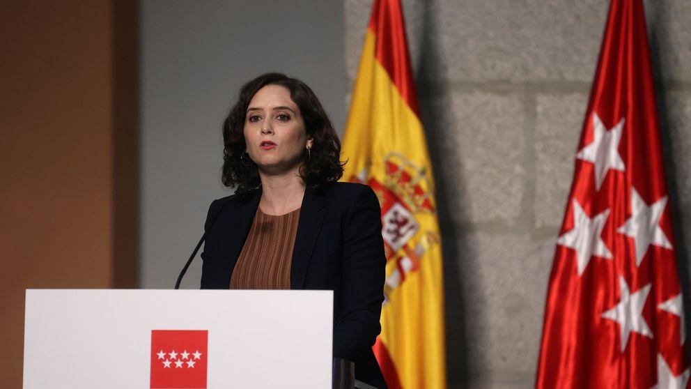 Ayuso cita a los empresarios para blindar las inversiones tras el cierre de Madrid
