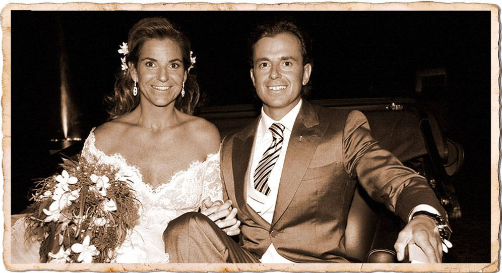 Foto: Una de las imágenes de la boda de Arantxa Sánchez Vicario.