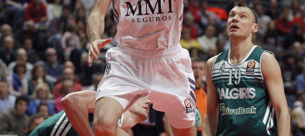 Foto: Rudy Fernández fue el máximo anotador con 20 puntos (Reuters).