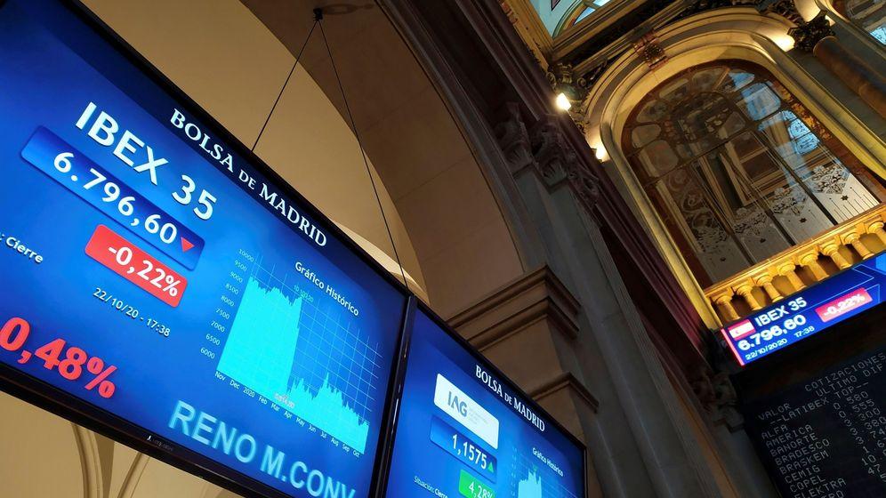 Foto: La Bolsa de Madrid. (EFE)