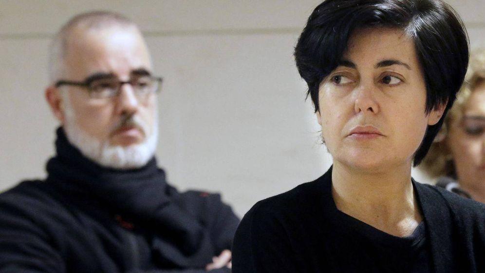 Foto: Rosario Porto, durante el juicio por la muerte de Asunta.