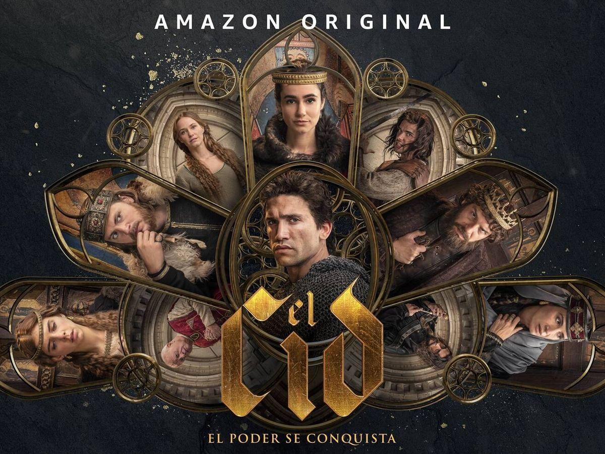 Foto: Cartel promocional de 'El Cid 2'. (Amazon Prime Video)