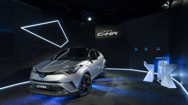 Toyota C-HR, un todocamino muy llamativo que llegará a España en diciembre
