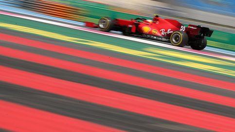 Carlos Sainz y Ferrari: ¿Vuelta a la realidad o guardando munición para la carrera?