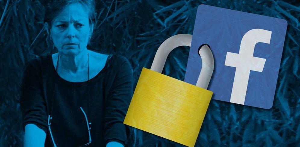 Foto: Matilde Solís en un fotomontaje de Vanitatis