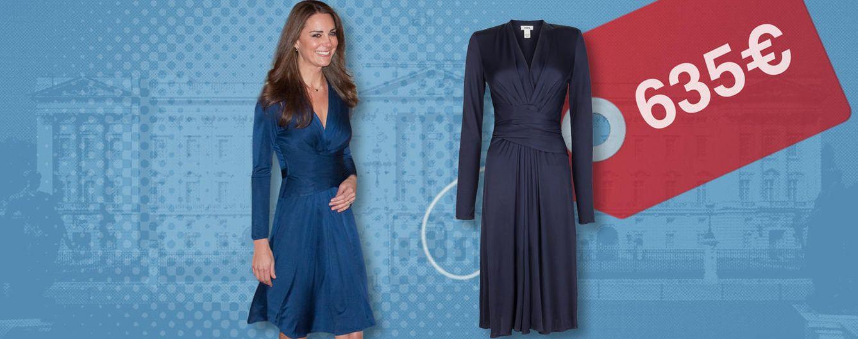 Foto: Issa London ha reeditado el vestido de la duquesa de Cambridge por 635 euros (Vanitatis)