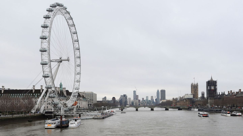 Imagen de la emblemática noria londinense. (Reuters)