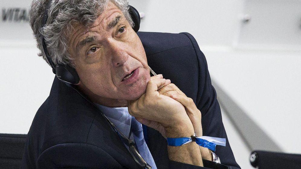 Foto: Ángel María Villar, presidente de la RFEF (Efe).