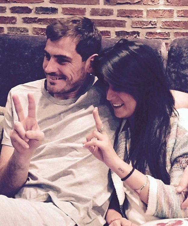 Foto: Iker Casillas e Irene Carbonero (Instagram)