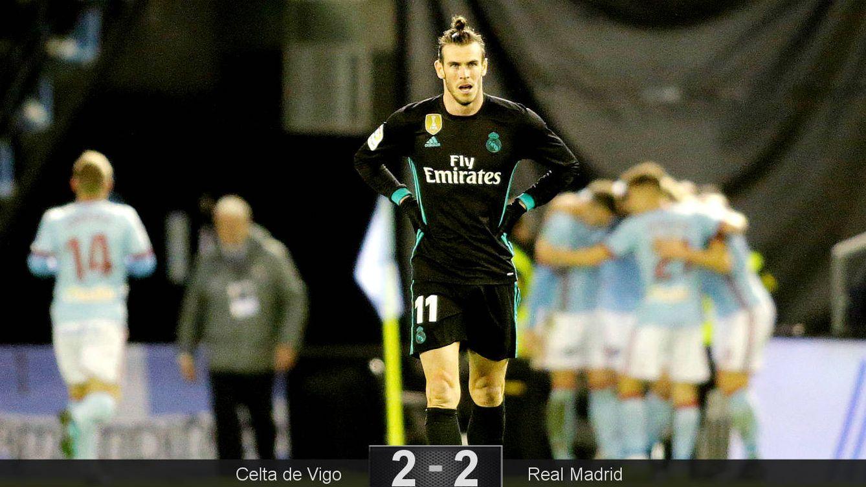 Foto: Bale fue de lo poco salvable del Real Madrid en Vigo. (Reuters)